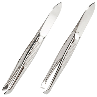 remos tweezers nickel-plated