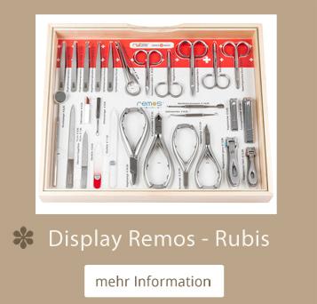 Remos - Rubis Pultdisplay